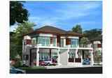 บ้านแฝดสไตล์บ้านเดี่ยว บ้านใหม่ โครงการ The Honey Home - DDproperty.com