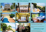 Beachfront Villa For Rent in Pranburi 6 bedrooms per day/month - DDproperty.com