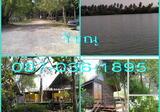 ที่ดิน ติดแม่น้ำ 6 ไร่ พร้อมรีสอร์ท หน้ากว้าง 100 เมตร ติดคลอง ติดถนน อัมพวาไม่ไกล หิ่งห้อยเยอะ ซื้อ 6 ได้ 9 ไร่ - DDproperty.com