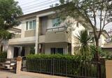 บ้านเดี่ยว 2 ชั้น หมู่บ้านสราญสิริ ท่าข้าม พระราม2 พร้อมตกแต่งภายในและเฟอร์นิเจอร์ - DDproperty.com