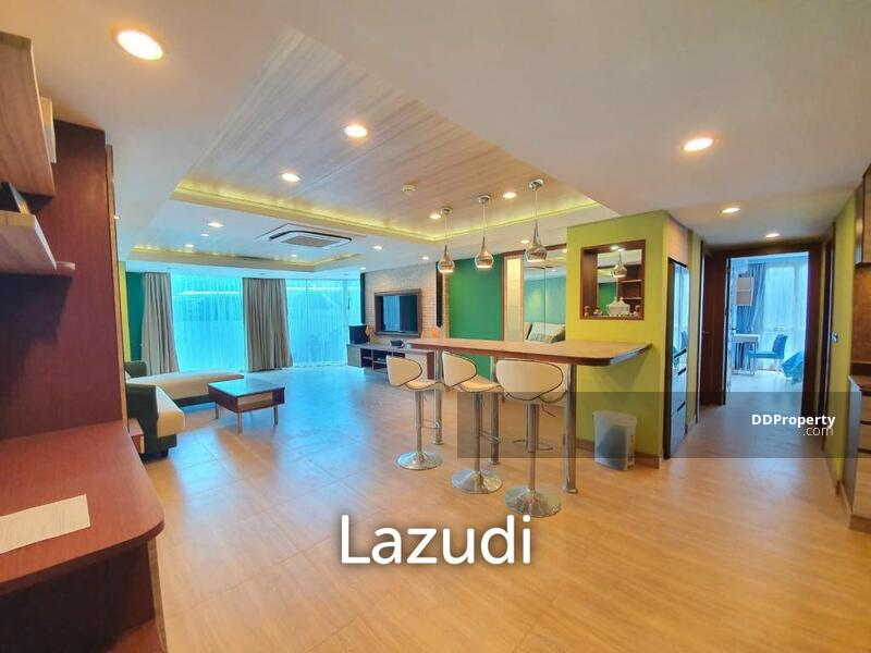 Lazudi Unique 2 bedroom on ground floor in the Cliff Phratamnak for SALE